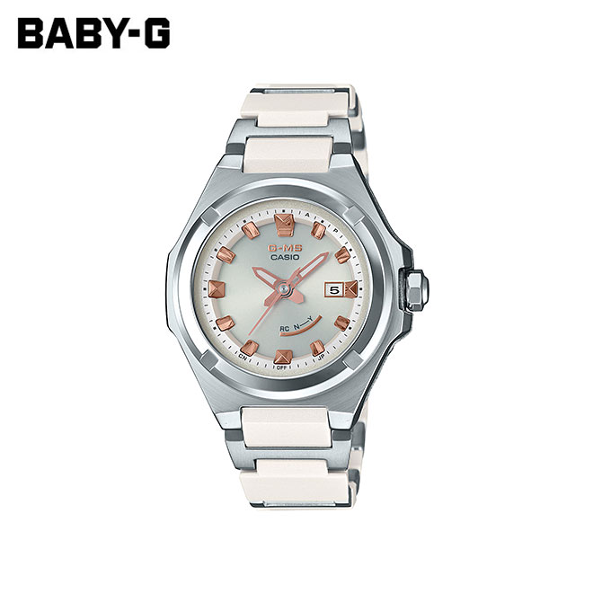 【女性用】 カシオ ベビーG 腕時計 ベビージー ベイビージー レディース CASIO BABY-G 電波 ソーラー 防水 [ 国内正規品 ] [ gy ]