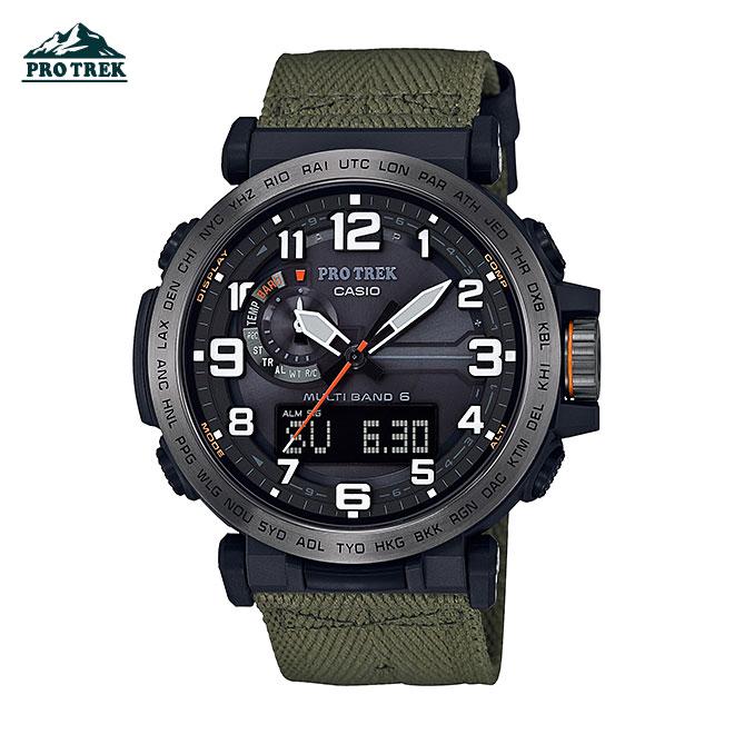 カシオ プロトレック 腕時計 メンズ レディース CASIO PRO TREK 電波 ソーラー 防水 [ 国内正規品 ] [ bk ]