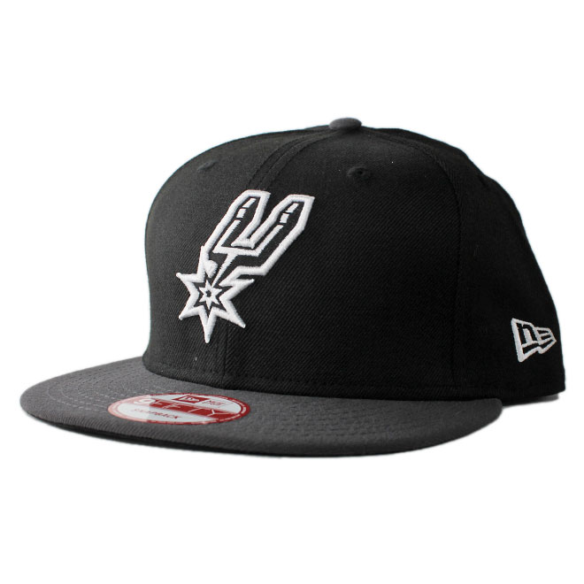 83d116a1e New gills snapback cap hat NEW ERA 9fifty men gap Dis NBA San Antonio Spurs  adjustable size [bk]