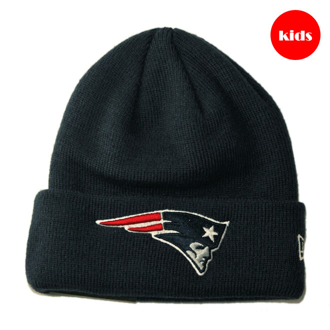 b44834d4e New gills knit hat beanie cap hat baby NEW ERA NFL New England Patriots one  size [nv]