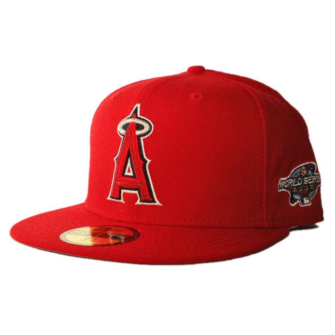 ニューエラ ベースボールキャップ 帽子 NEW ERA 59fifty メンズ レディース MLB ロサンゼルス エンゼルス 7-8 [ rd ]