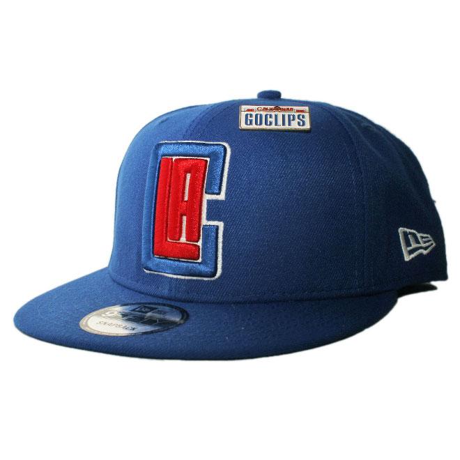 ニューエラ スナップバックキャップ 帽子 NEW ERA 9fifty メンズ レディース NBA ロサンゼルス クリッパーズ フリーサイズ [ bl ]