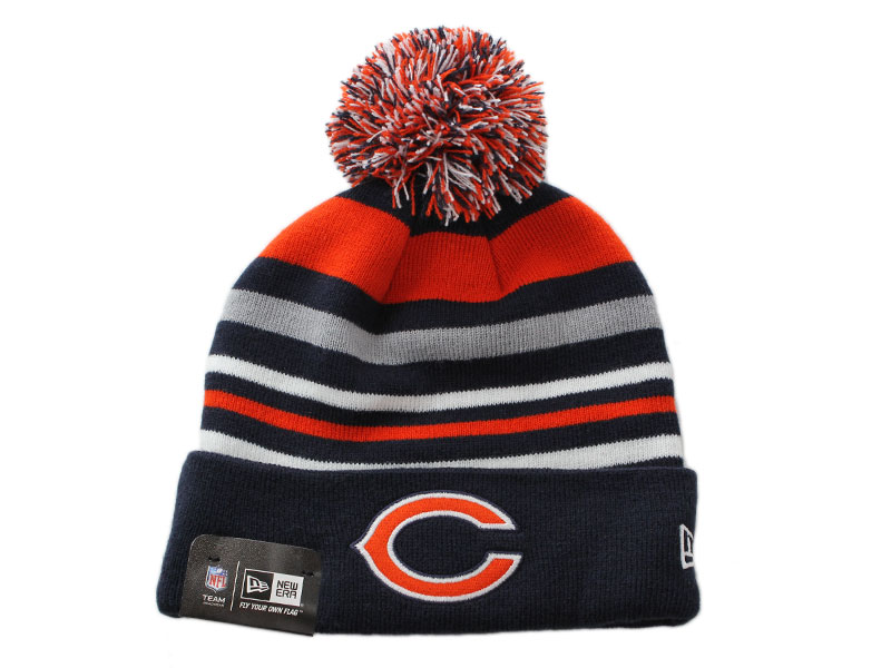 645b85faf17 NEW ERA new era caps new era cap newera NFL CHICAGO BEARS Chicago Bears  caps knitting Hat Beanie Kamon Cap one size fits all big size hats men  women