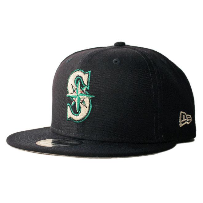 sale retailer c27b2 ae5ad New gills snapback cap hat NEW ERA 9fifty men gap Dis MLB Seattle Mariners  adjustable size ...