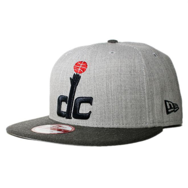 ニューエラ スナップバックキャップ 帽子 NEW ERA 9fifty メンズ レディース NBA ワシントン ウィザーズ フリーサイズ [ gy ]