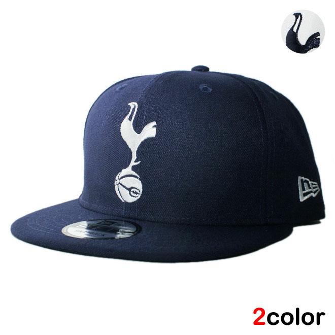 ニューエラ スナップバックキャップ 帽子 NEW ERA 9fifty メンズ レディース プレミアリーグ トッテナム ホットスパーFC フリーサイズ [ wt nv ]