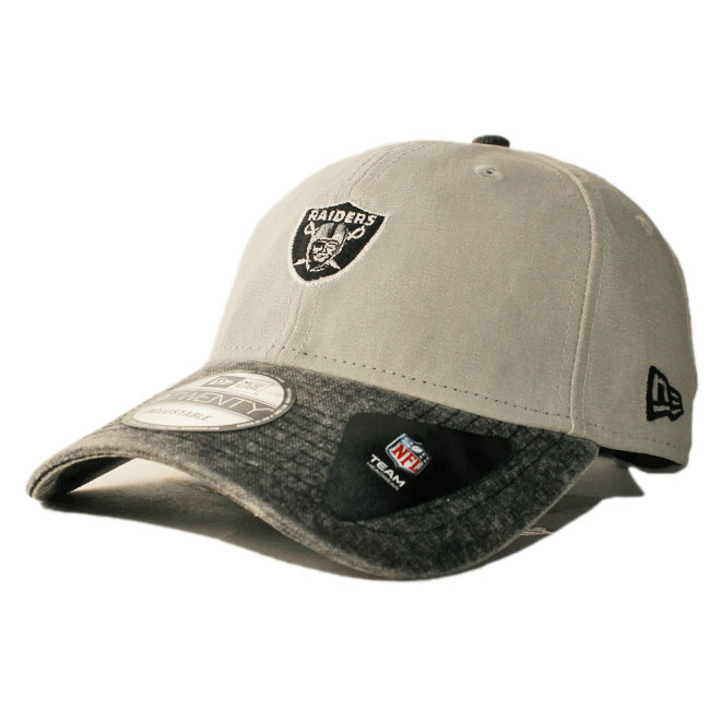 3f0436f6a75982 New Erastus lap back cap hat NEW ERA 9twenty men gap Dis NFL Oakland Raiders  adjustable size [gy]