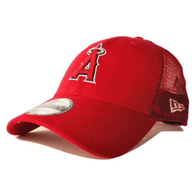 check out b4ed6 1dbe5 New gills mesh cap snapback hat NEW ERA 9forty men gap Dis MLB Los Angeles  Angels ...