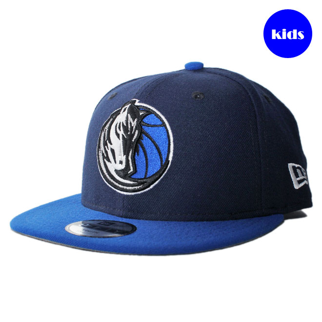 brand new bbeca 6df6b New gills snapback cap hat NEW ERA 9fifty kids NBA Dallas Mavericks  adjustable size  nv ...