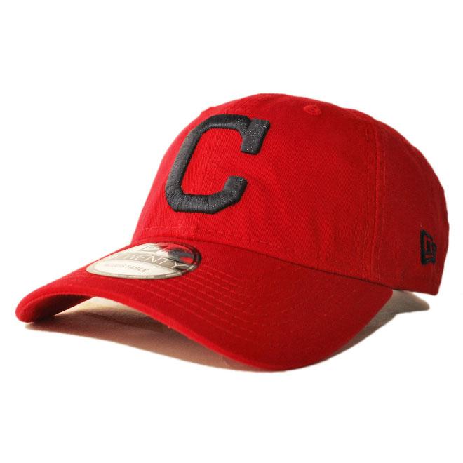 a7a91695d New Erastus lap back cap hat NEW ERA 9twenty men gap Dis MLB Cleveland  Indians adjustable size [rd]
