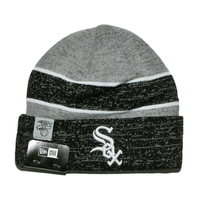 487ceddc New gills knit hat beanie cap hat men gap Dis NEW ERA MLB Chicago White Sox  one size [gy ptn]