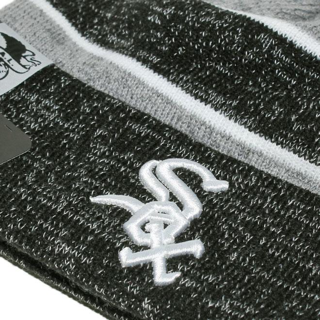 801a8c6f2 New gills knit hat beanie cap hat men gap Dis NEW ERA MLB Chicago White Sox  one size [gy ptn]