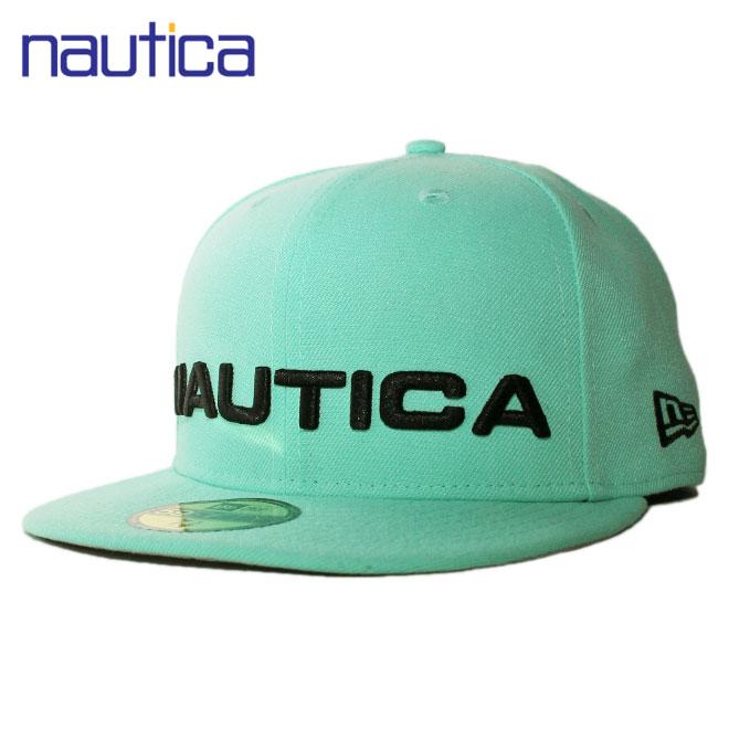 ニューエラ ノーティカ コラボ ベースボールキャップ 帽子 NEW ERA NAUTICA 59fifty メンズ レディース 7 3/8-7 5/8 [ lbe ]