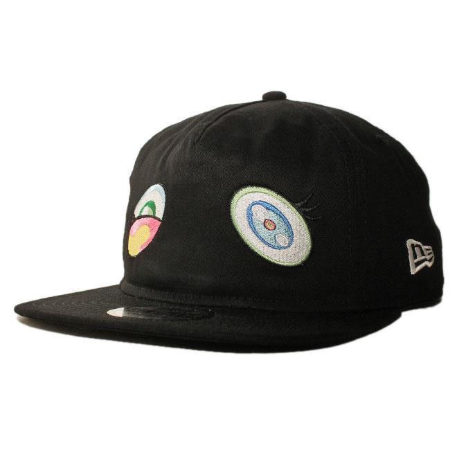 ニューエラ 村上隆 カイカイキキ コンプレックスコン コラボ スナップバックキャップ 帽子 NEW ERA TAKASHI MURAKAMI KAIKAI KIKI COMPLEXCON TM/KK THE GOLFER メンズ レディース フリーサイズ [ bk ]
