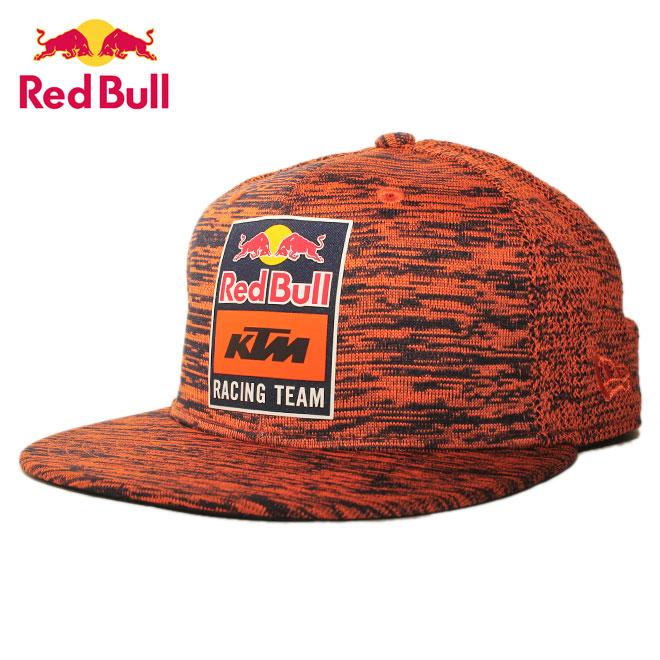 ニューエラ レッドブル KTM レーシングチーム コラボ スナップバックキャップ 帽子 NEW ERA RED BULL KTM RACING TEAM 9fifty メンズ レディース フリーサイズ [ or ptn ]