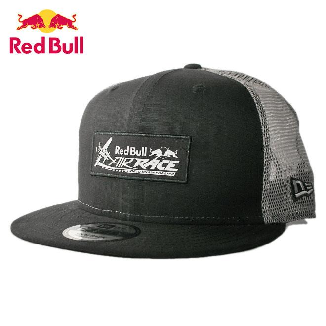 ニューエラ レッドブル エアレース コラボ メッシュキャップ スナップバック 帽子 NEW ERA RED BULL AIR RACE 9fifty メンズ レディース M/L [ bk ]