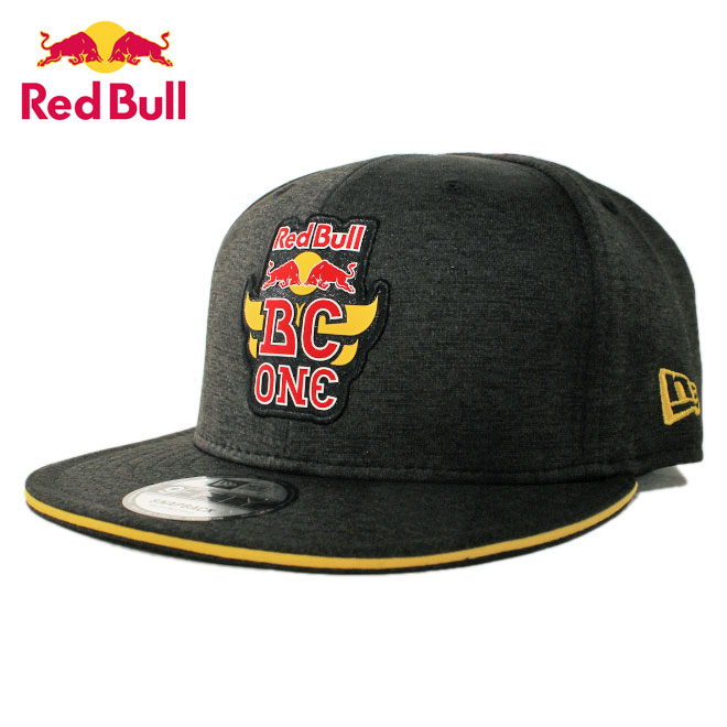 ニューエラ レッドブル ビーシー ワン コラボ スナップバックキャップ 帽子 NEW ERA RED BULL BC ONE 9fifty メンズ レディース M/L [ bk ]