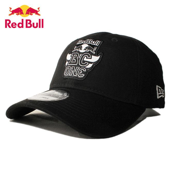 ニューエラ レッドブル ビーシーワン コラボ ストラップバックキャップ 帽子 NEW ERA RED BULL BC ONE 9twenty メンズ レディース フリーサイズ [ bk ]