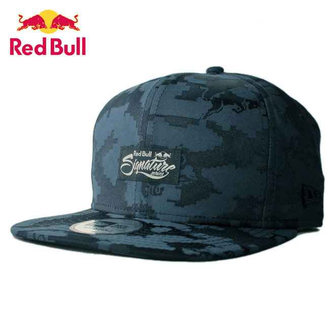 ニューエラ レッドブル ランページ コラボ ストラップバックキャップ 帽子 NEW ERA RED BULL RAMPAGE メンズ レディース 迷彩 フリーサイズ [ nv ptn ]