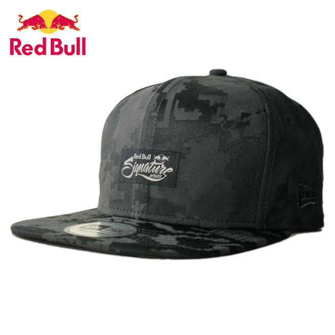 ニューエラ レッドブル ランページ コラボ ストラップバックキャップ 帽子 NEW ERA RED BULL RAMPAGE メンズ レディース 迷彩 フリーサイズ [ gy ptn ]