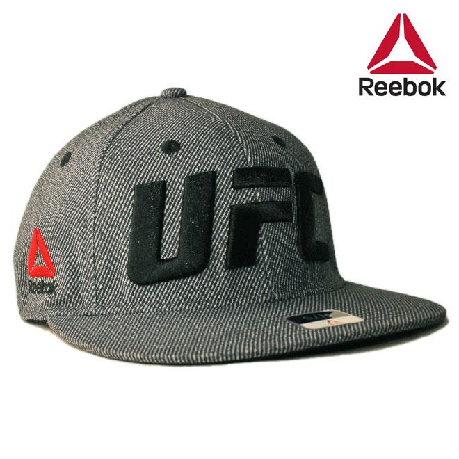 リーボック ユーエフシー コラボ ベースボールキャップ 帽子 メンズ レディース Reebok UFC S/M L/XL [ bk ]