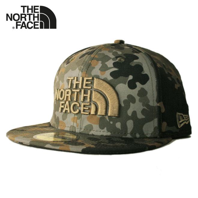 ニューエラ ザ ノースフェイス コラボ ベースボールキャップ 帽子 NEW ERA THE NORTH FACE 59fifty メンズ レディース 7 1/4-7 1/2 [ ol ptn ]