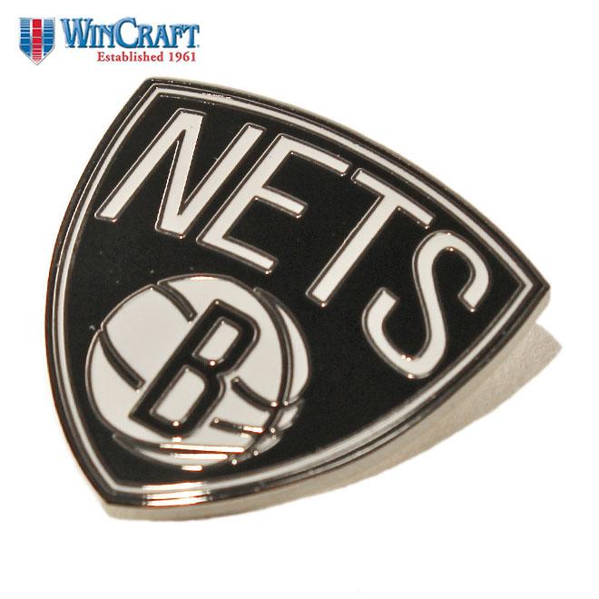 Wink Raft pin badge accessories men gap Dis WinCraft NBA Brooklyn Nets [bk]