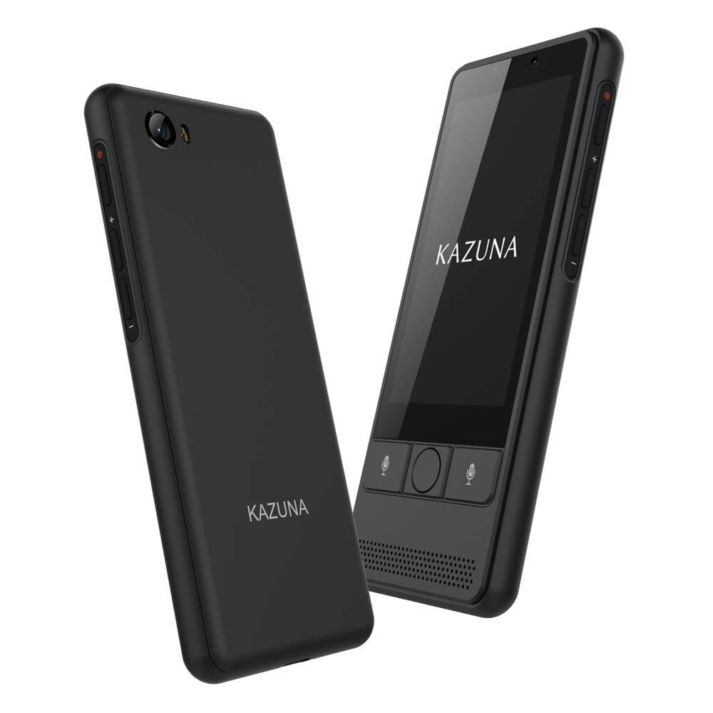 TAKUMI JAPAN KAZUNA eTalk 5 自動翻訳機 72言語翻訳可能 Wi-Fiテザリング搭載 ブラック 【日本正規代理店品】 TKMT1809B1BK
