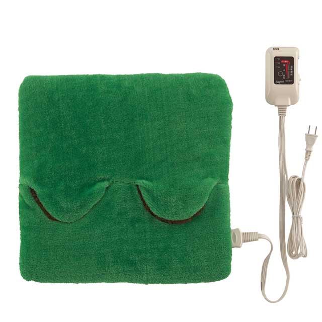 セール ホットマルチヒーター グリーン [SB-MH801G] 洗える タイマー 足温器 椙山紡織 SUGIYAMA
