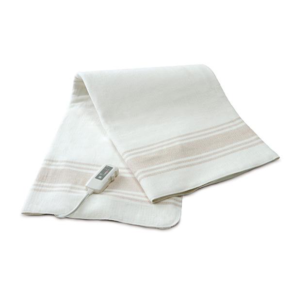 【送料無料】ゼンケン ZENKEN オーガニック掛敷電気毛布 [ZB-OC101SGT] 毛布[あたたかグッズ]