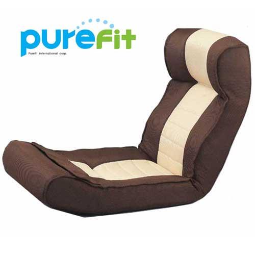 【送料無料】【ポイントUP】 purefit ピュアフィット 腹筋らくらく座椅子 [PF2000] メタボリックを解消 折りたたみ式 ヘッドレスト付き キャンペーン中