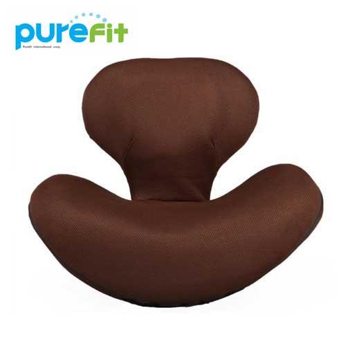 【送料無料】purefit ピュアフィット ゆらゆら姿勢座椅子 ブラウン [PF2300] くびれウエスト、ポッコリお腹、姿勢、骨盤が気になる方に最適