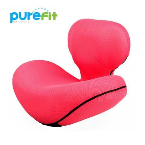 【送料無料】【ポイントUP】purefit ピュアフィット ゆらゆら姿勢座椅子 ピンク [PF2300] くびれウエスト、ポッコリお腹、姿勢、骨盤が気になる方に最適