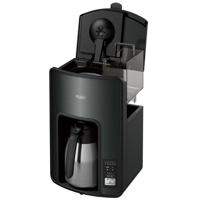 【送料無料】サーモス【THERMOS】真空断熱ポット コーヒーメーカー ブラック[ECH-1001BK]