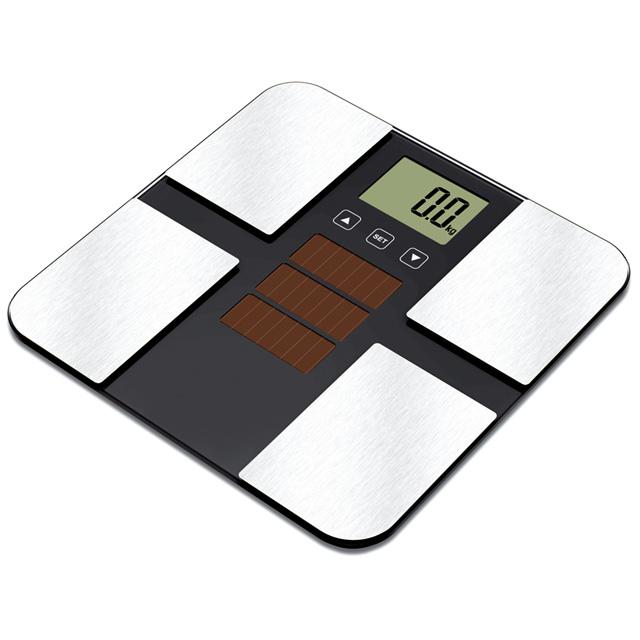 室内照明下でソーラー充電 ソーラー体重体組成計 MA-630 丸隆 電池交換不要 内臓脂肪 基礎代謝 体脂肪 セール特別価格 骨量 至上