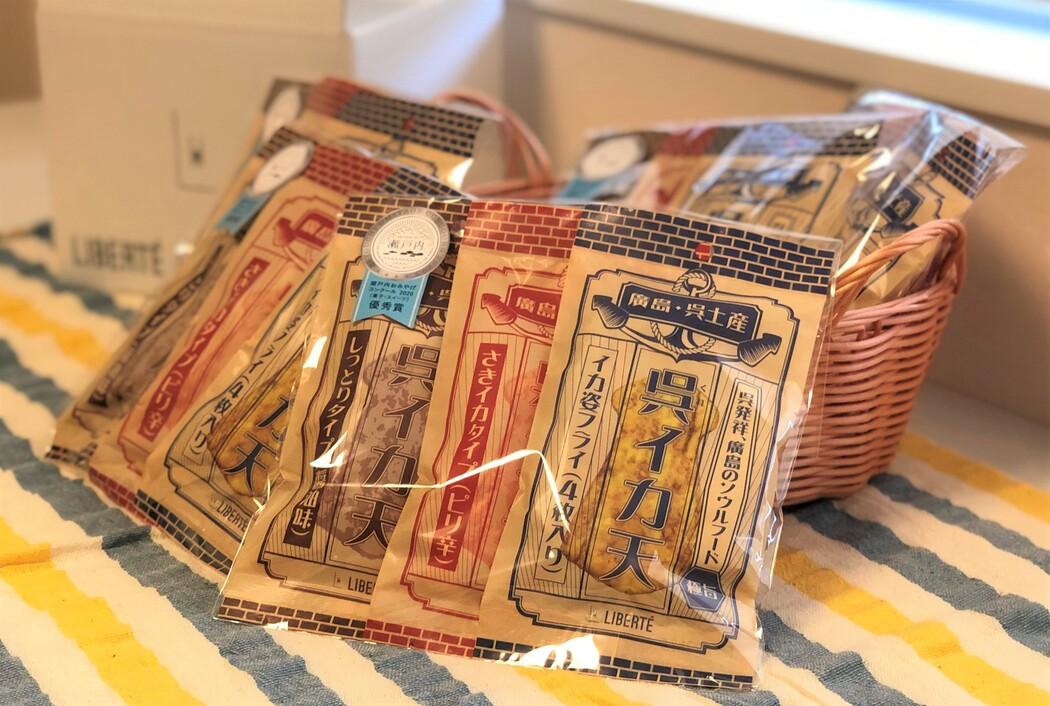 送料無料 と~ってもお得な5個セット 2 700円が2 000円 姿フライ ついに再販開始 カリッ しっとり天 香ばしい醤油の香り さきいか天 ピリっとやみつき 買い取り どれも美味しさ一等賞 イカフライ おつまみ 広島名物 三大呉イカ天 お得な5個セット 広島グルメ イカ姿フライ 醤油味 乾き物 ピリ辛 さきイカ天 酒の肴 駄菓子 いかフライ 酒のつまみ 呉グルメ 呉名物 おやつ 3種セット
