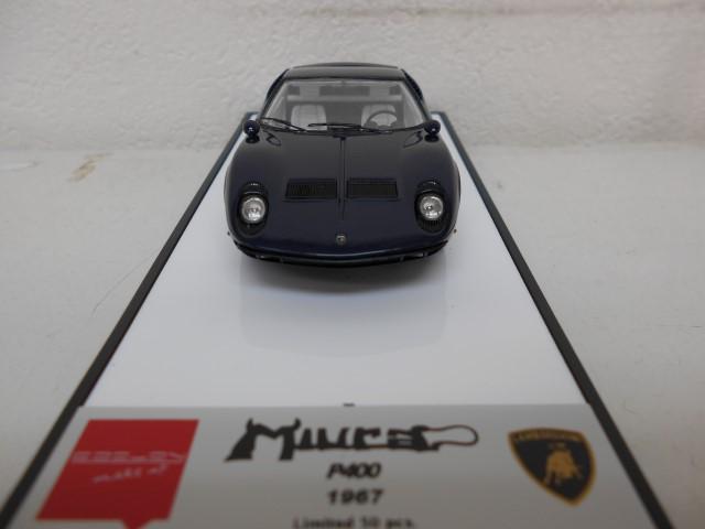 【中古】メイクアップ EIDOLON 1/43 ランボルギーニ ミウラ P400 1967 メタリックブルー 完成品