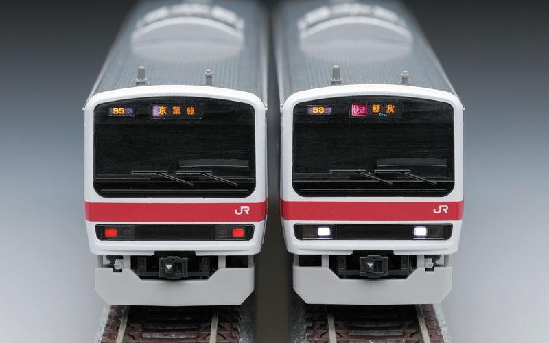 【中古】TOMIX 92807 JR 209系500番台通勤電車(京葉線)セット