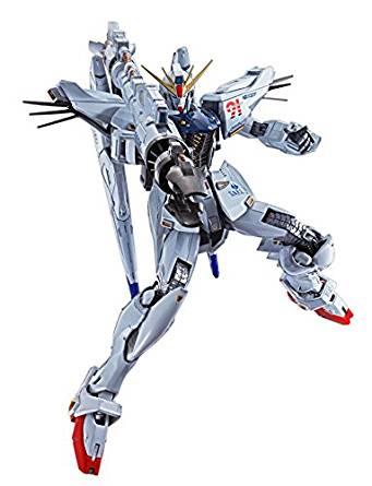 【中古】METAL BUILD 機動戦士ガンダムF91 ガンダムF91 約170mm ABS&PC&PVC&ダイキャスト製 塗装済み可動フィギュア