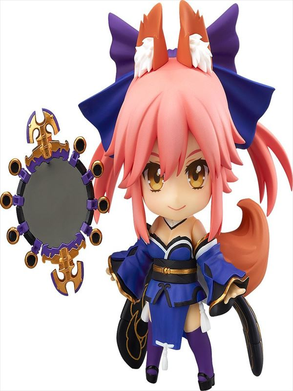 【新品】ねんどろいど Fate/EXTRA キャスター ノンスケール ABS&PVC製 塗装済み可動フィギュア