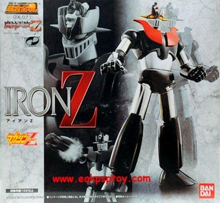 【中古】未開封品超合金魂 GX-07I マジンガーエンジェルZ アイアンZ 誌上限定