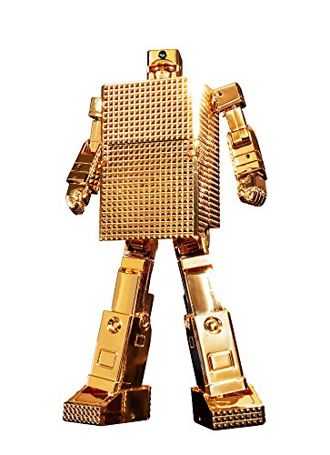 【中古】未開封品超合金魂 黄金戦士ゴールドライタン GX-32R ゴールドライタン 24金メッキ仕上げ 約130mm(ロボ形態時) ABS&PVC&ダイキャスト製 塗装済み可動フィギュア