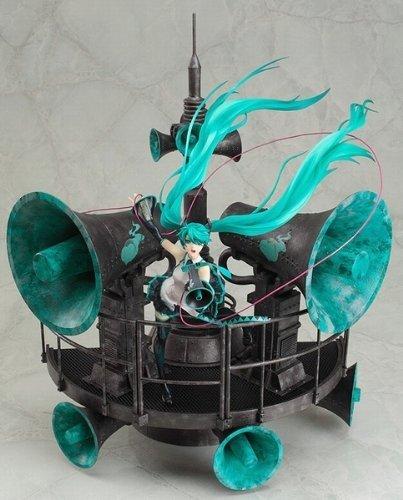 【中古】初音ミク 恋は戦争ver. DX 1/8 完成品フィギュア キャラクターボーカルシリーズ01(グッドスマイルオンラインショップ限定)