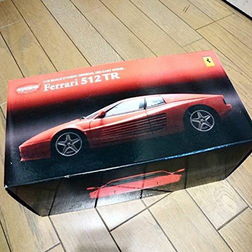 【中古】京商 1/18 フェラーリ 512TR レッド K08423R 完成品