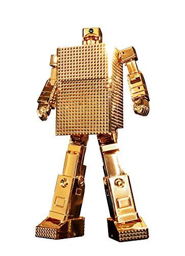 【中古】超合金魂 黄金戦士ゴールドライタン GX-32R ゴールドライタン 24金メッキ仕上げ 約130mm(ロボ形態時) ABS&PVC&ダイキャスト製 塗装済み可動フィギュア