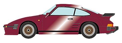 【中古】VISION 1/43 ポルシェ 930 ターボ フラットノーズ 1988 BBS ホイール メタリックバーガンディ (ゴールドメッシュ) 完成品