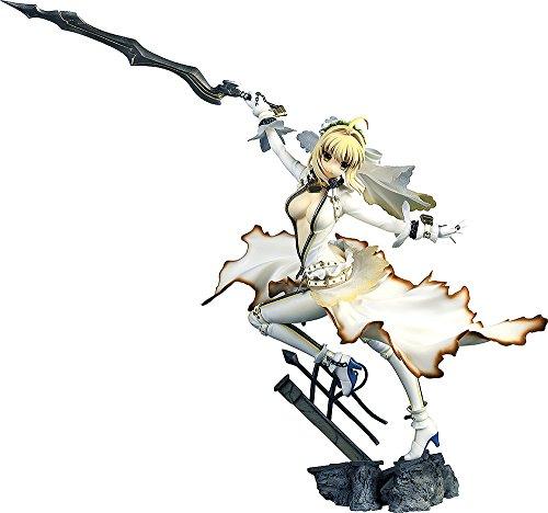 【中古】Fate/EXTRA CCC セイバー・ブライド 1/7スケール PVC製 塗装済み完成品フィギュア