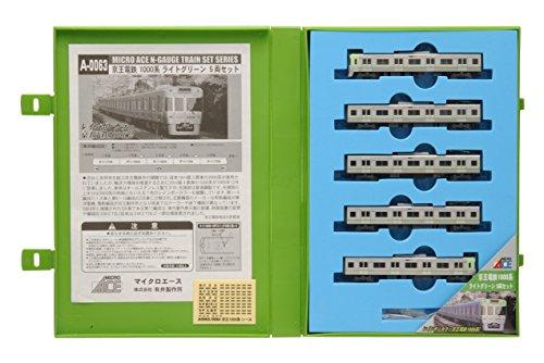 【中古】マイクロエース Nゲージ 京王1000系 ライトグリーン 5両セット A0063 鉄道模型 電車