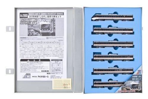 【中古】マイクロエース Nゲージ 383系 特急「しなの」 基本6両セット A2960 鉄道模型 電車