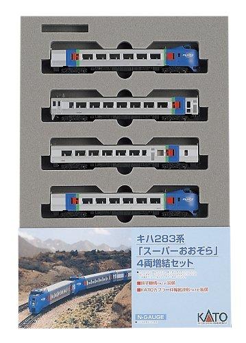 【中古】KATO Nゲージ キハ283系 スーパーおおぞら 増結 4両セット 10-477 鉄道模型 電車